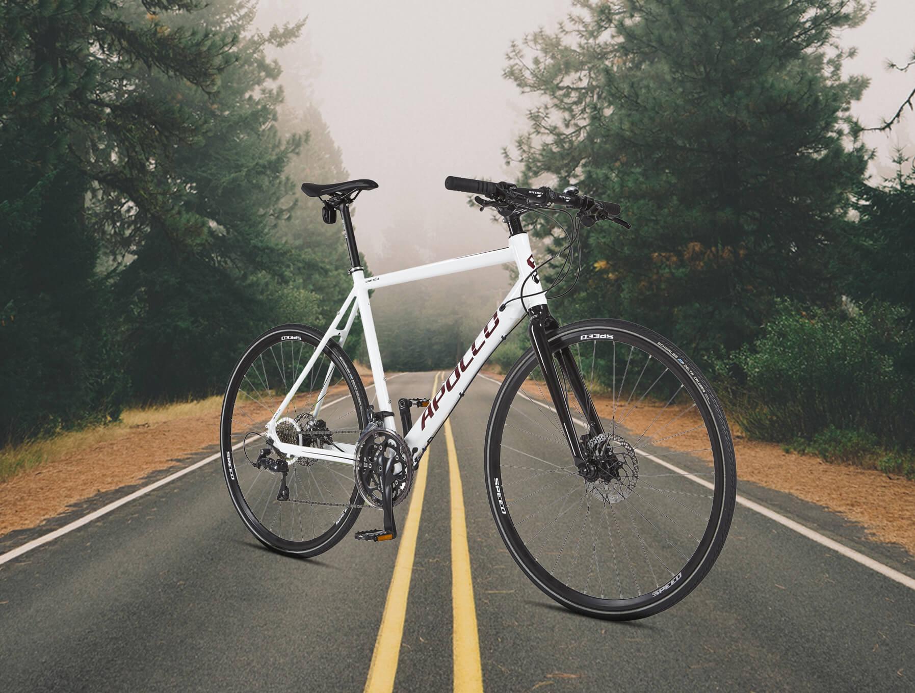 racer hybrid cykel